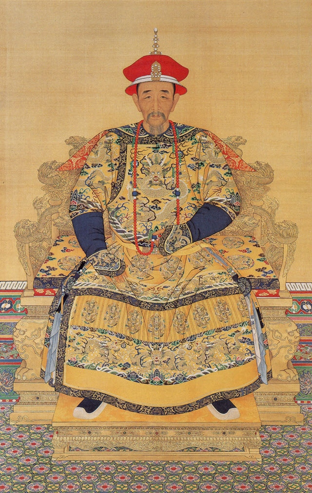 A portrait of Chinese Emperor Kangxi