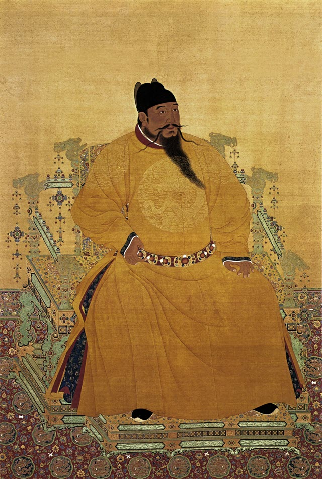 A portrait of Chinese Emperor Ming Chengzu