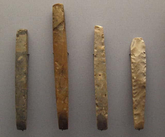 Chisels belonging to the Neolithic Period