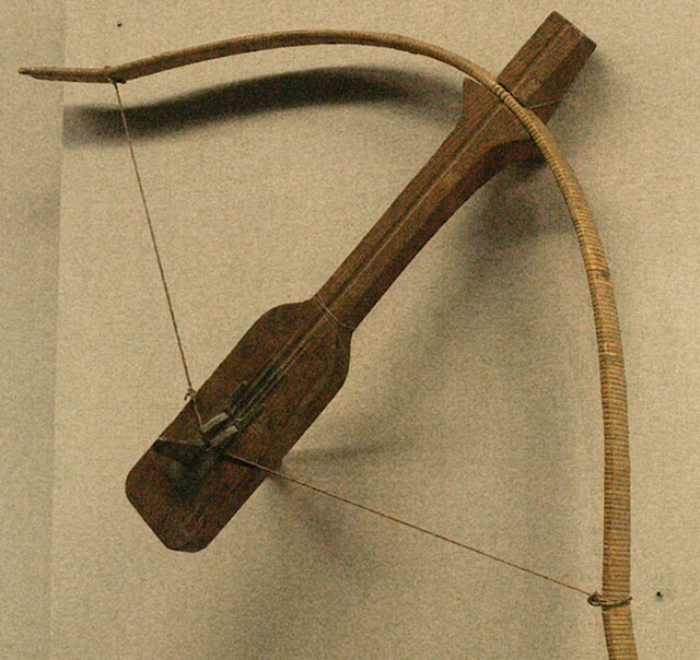 Crossbow developed during the Qin Dynasty