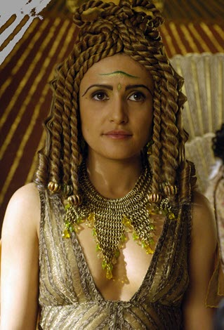 The character of Cleopatra in series Rome