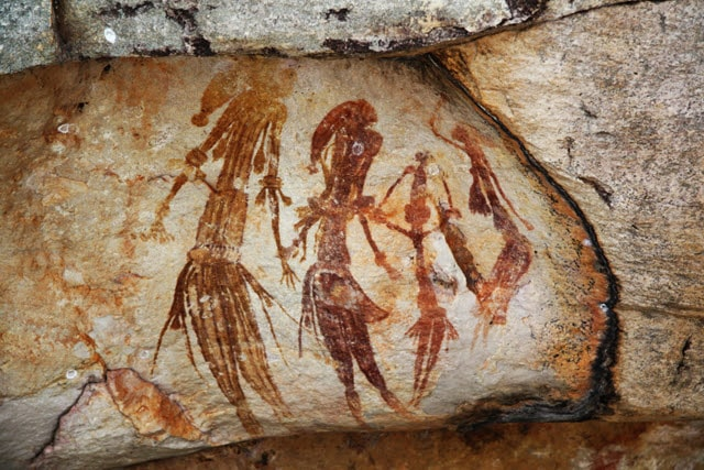 Gwion Gwion Rock Paintings