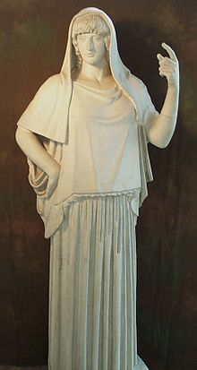 Hestia- the Goddess of the hearth, home, domestic life, and hospitality