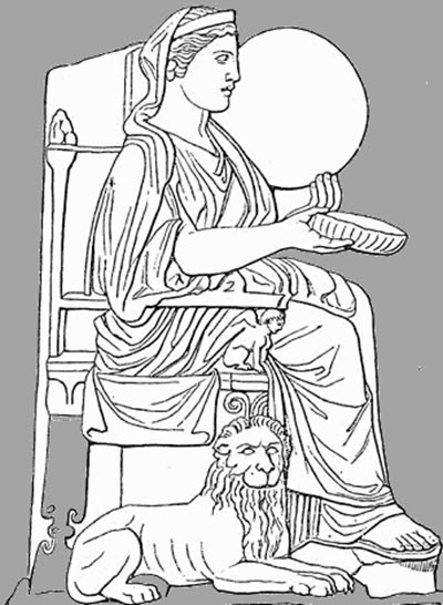 Rhea - the mother of the gods