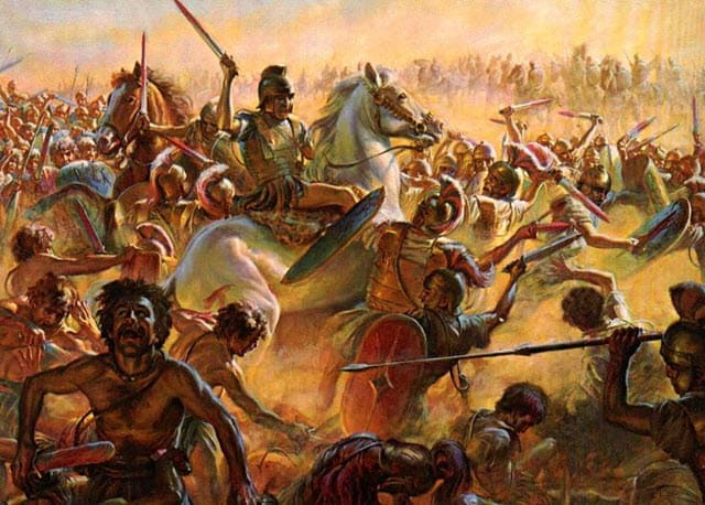 Significant battle of the Trebia - Hannibal's Troop