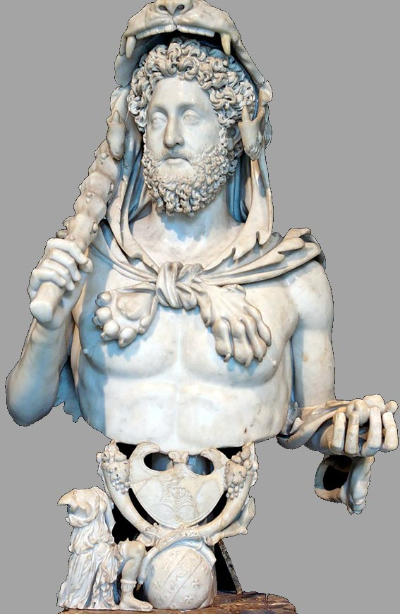 Statue of Commodus as Hercules