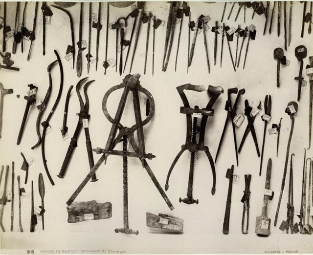 Surgical instrument of the Roman Era