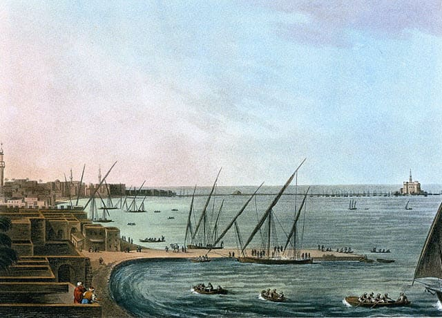 The City of Alexandria during the 18th Century