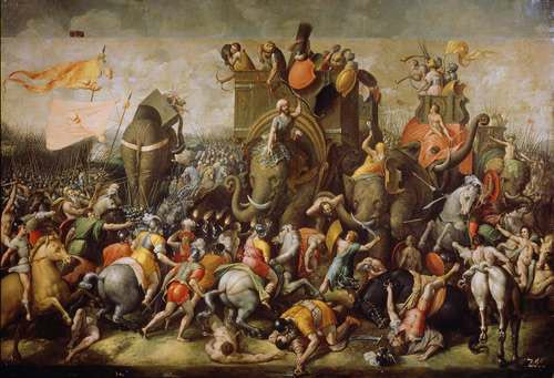 The Second Punic War - Hannibal's Troop
