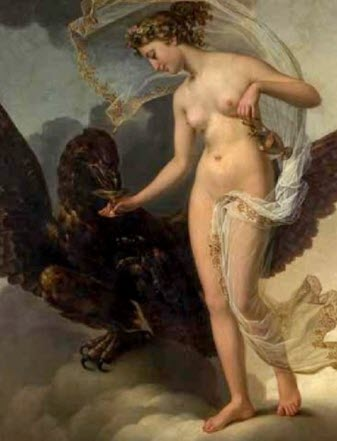 The youngest daughter of Zeus and Hera - Hebe