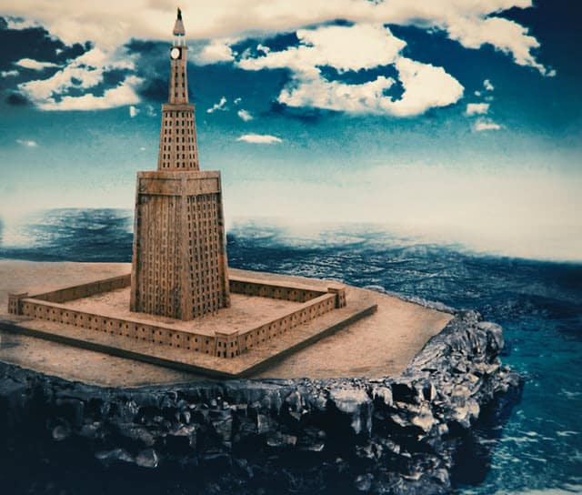 3D reconstruction of one of the 7 wonders - Lighthouse of Alexandria