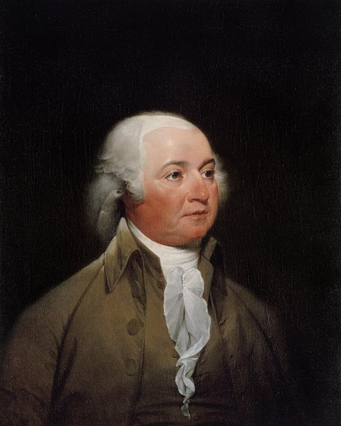 A photo of John Adams during Diplomacy in Britain and Netherlands