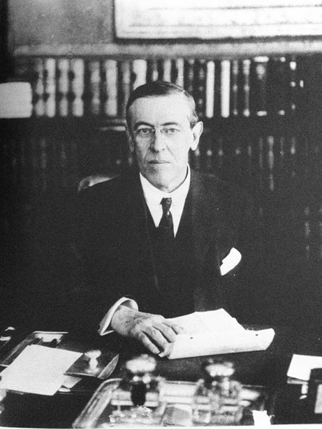 A photo of Woodrow Wilson while he was a Governor