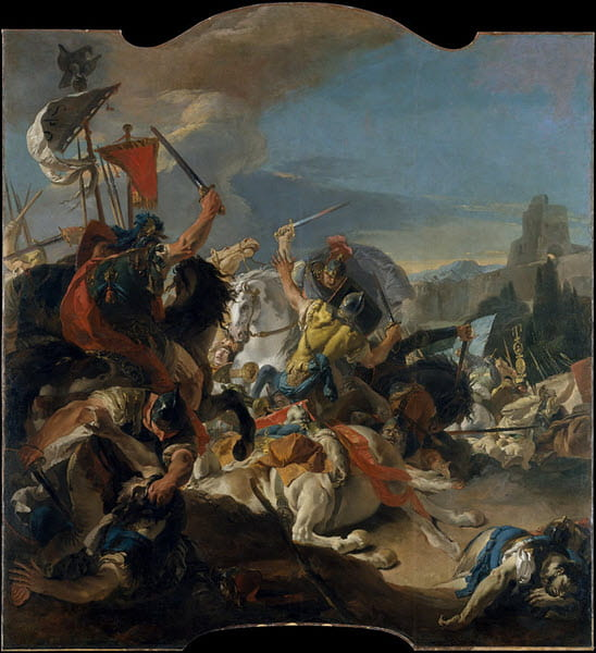 A portrait of the Battle of Vercellae