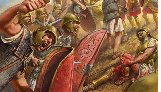 An image during the Battle of Cynoscephalae