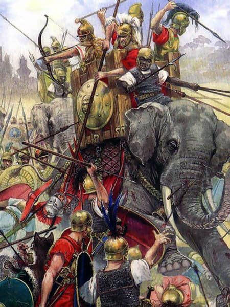 An image of the Battle of Beneventum