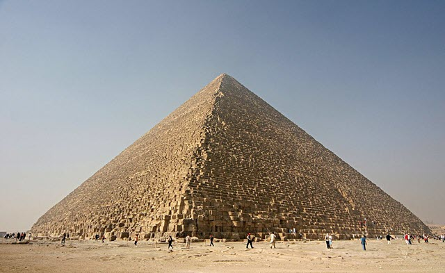 Kheops - one of the pyramids of Giza