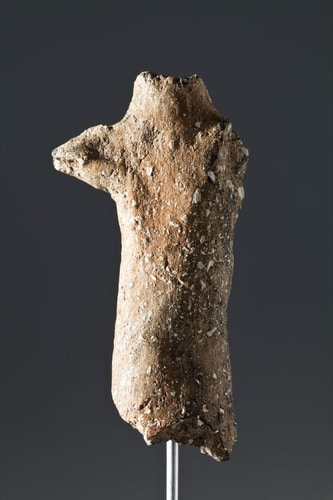 Most Ancient Pottery Prehistoric Figurine of the Iberian Peninsula