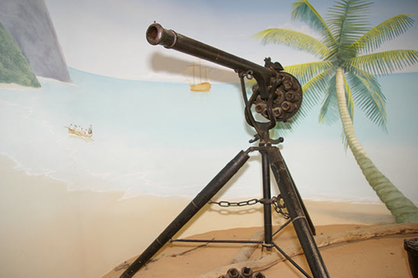 Replica of Puckle Gun invented by James Puckle