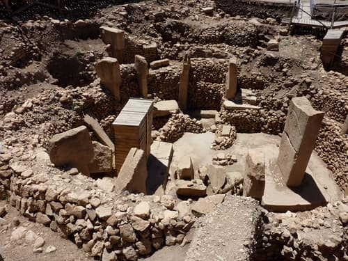 Stone Pillars at Gobekli Tepe that are also known as the Oldest Monoliths in the World