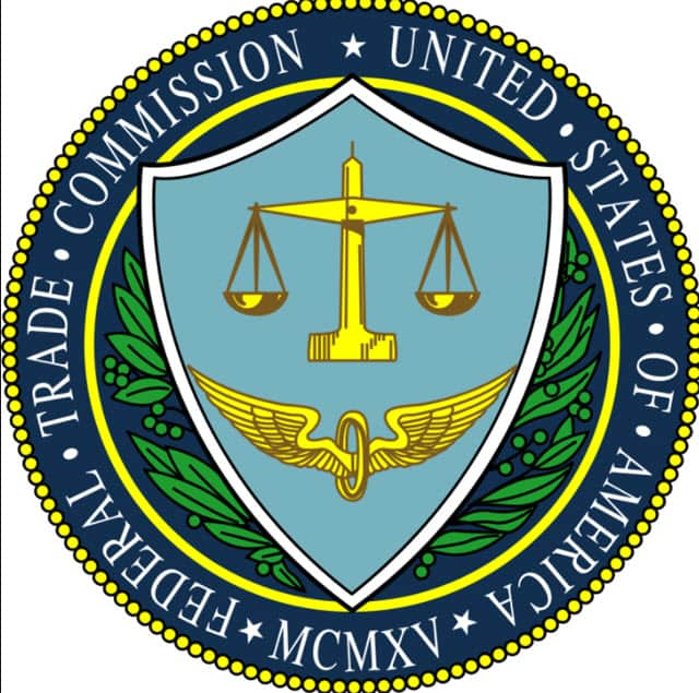 The seal of the Federal Trade Commission of the U.S