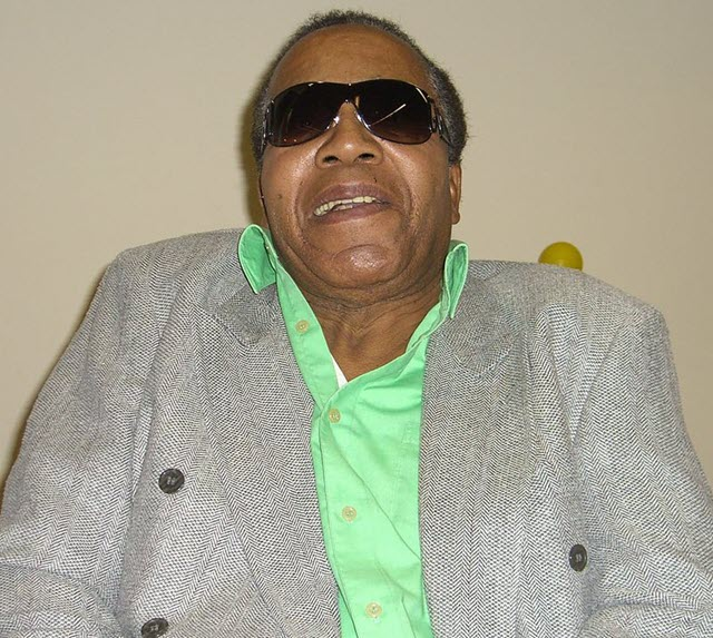 A picture of an American drug smuggler, Frank Lucas