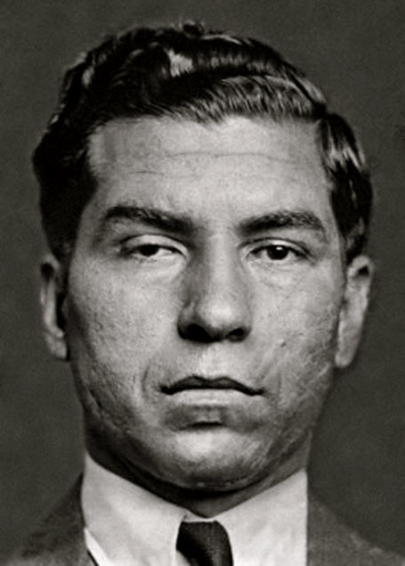 Lucky Luciano - an Italian-American mobster