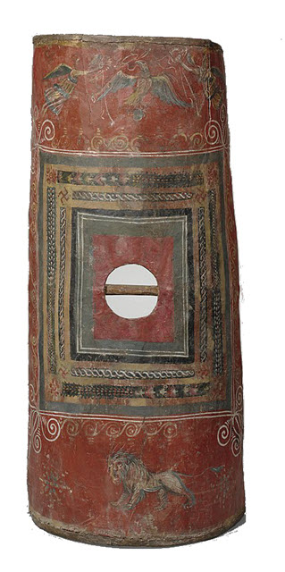 The only living ancient Roman shield Scutum