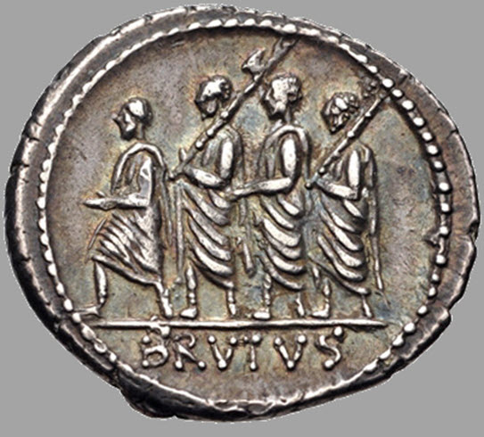 A first coin of the Roman Republic