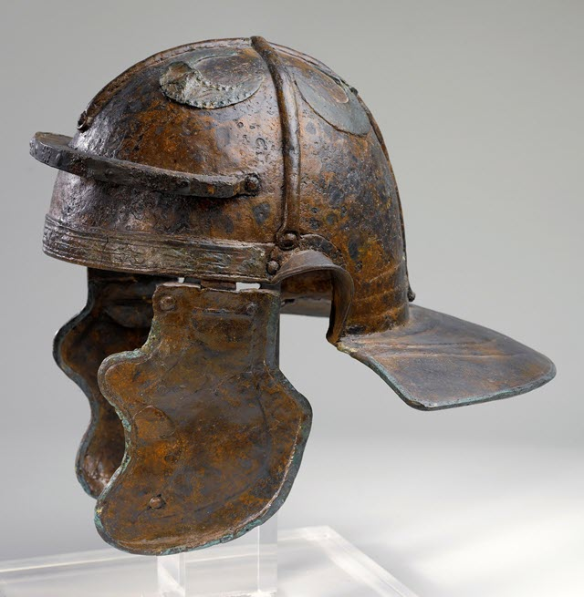 One of the types of Roman Imperial Italic Helmets