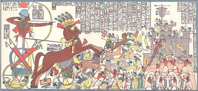 A scene from the Siege of Dapur