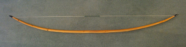 An image of a longbow made with Self- Yew